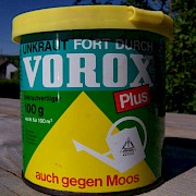 VOROX PLUS Unkraut Fort